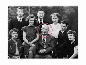 Charles Moulton y familia